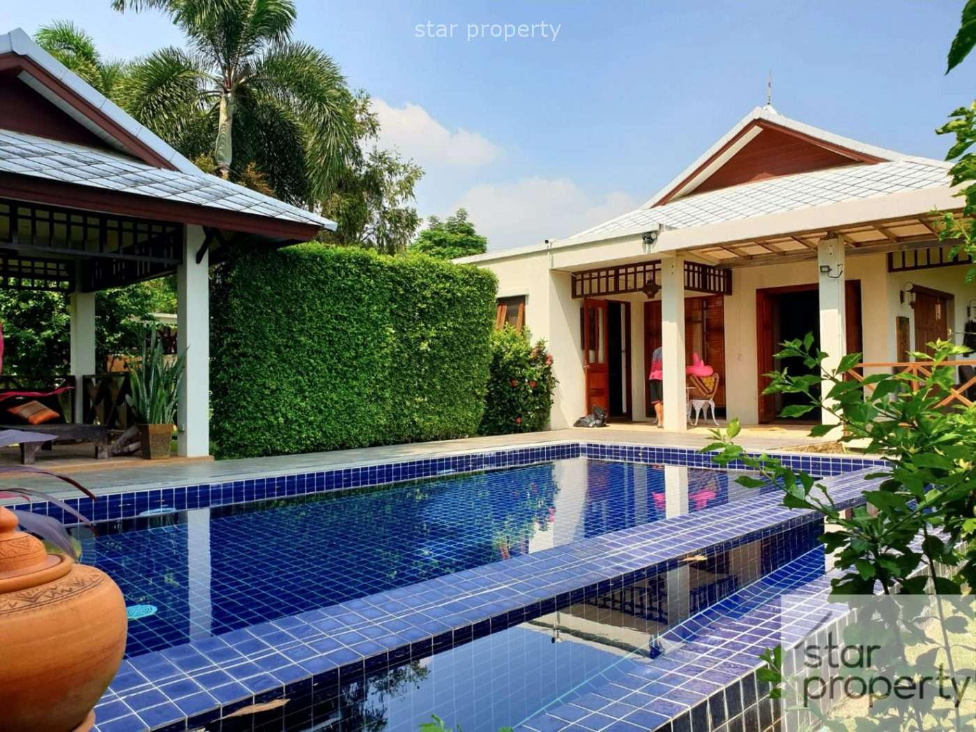 Stunning 3 Bed Pool Villa with Mountain View for Sale at Ban Hua Hin