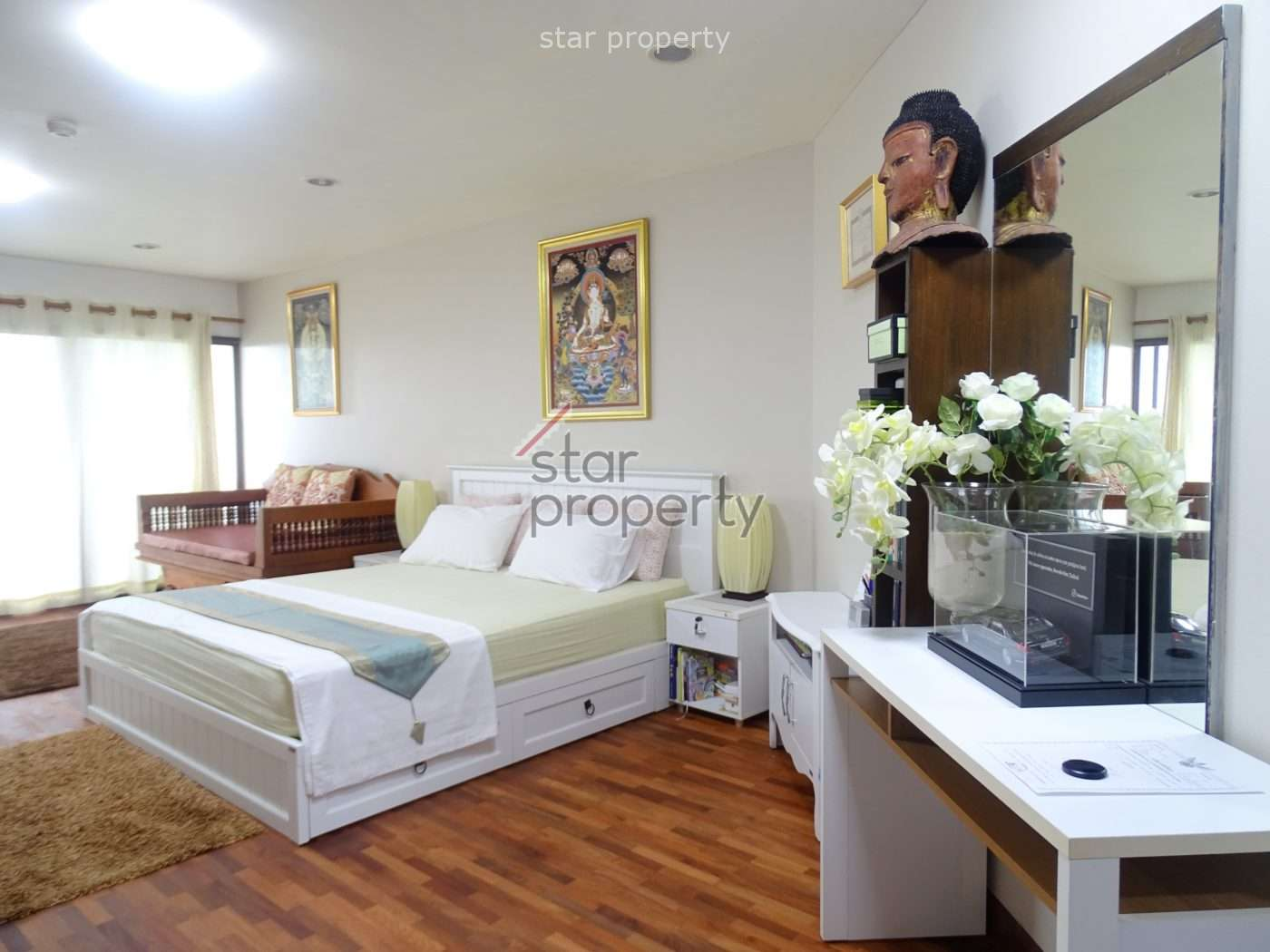 Beautiful Condominium with a view over the town for Sale at Palm Pavillion Hua Hin