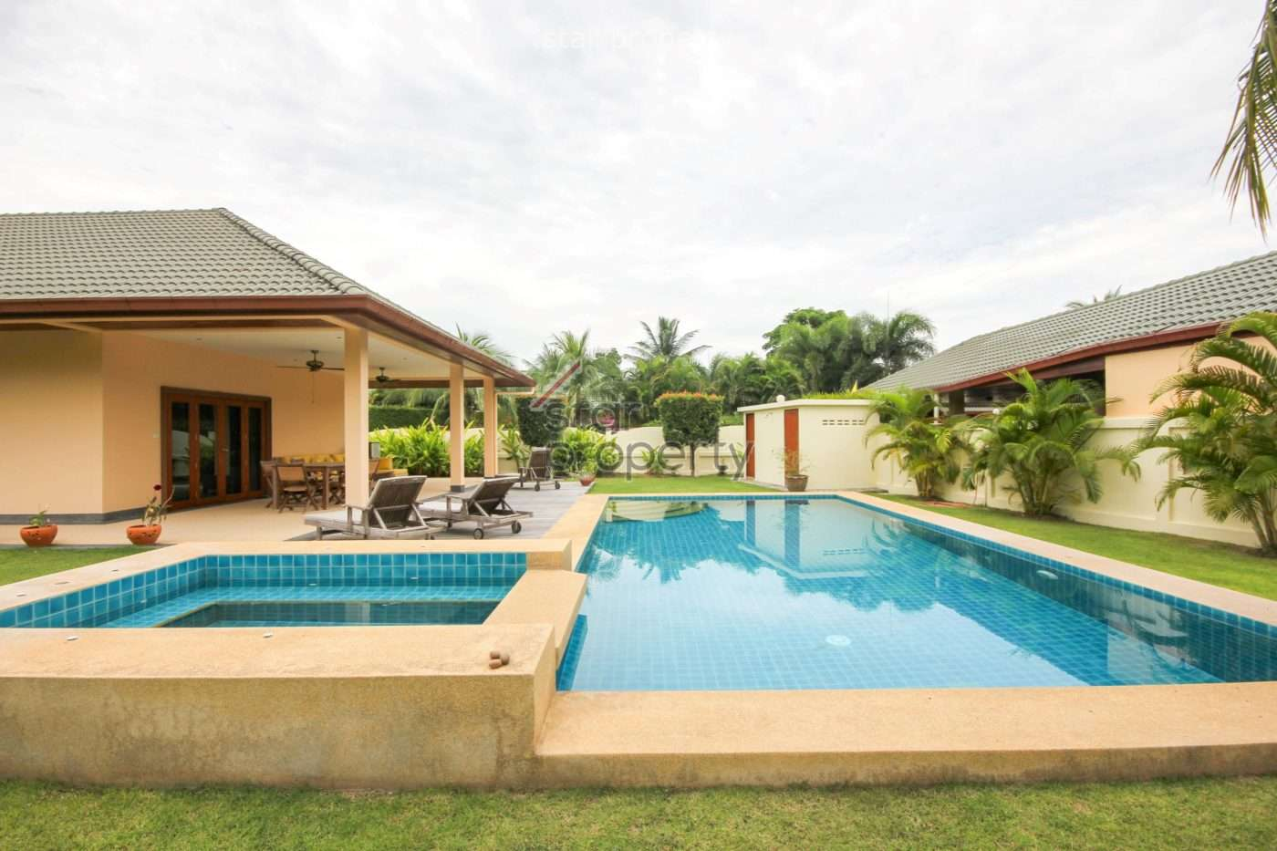 Stunning 3 Bed Pool Villa for Sale at Coconut Garden 2