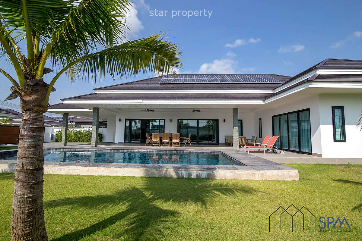 Luxury 3 Bed Pool Villa for Sale Plot 28 at The Clouds Hua Hin