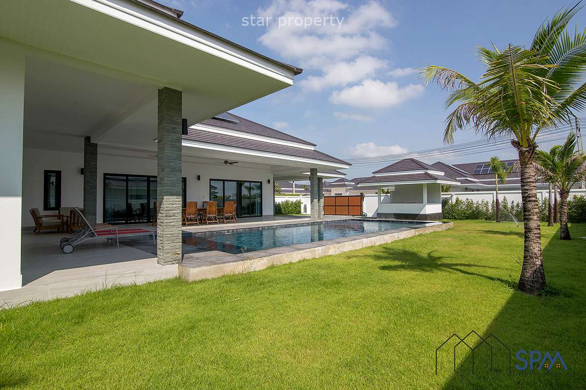 Stunning 3 Bed Pool Villa in north of Hua Hin for Sale Plot 30 at The Clouds Hua Hin