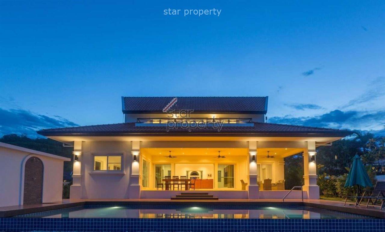 Beautiful Kemala Bali-style Pool Villa for Sale at Banyan Residences Villas Hua Hin