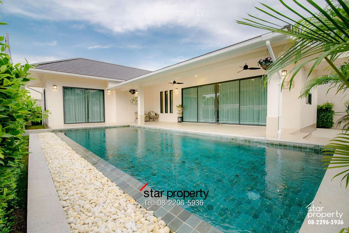 Beautiful Pool Villa with Mountain View for Sale at Baan View Khao,plot1