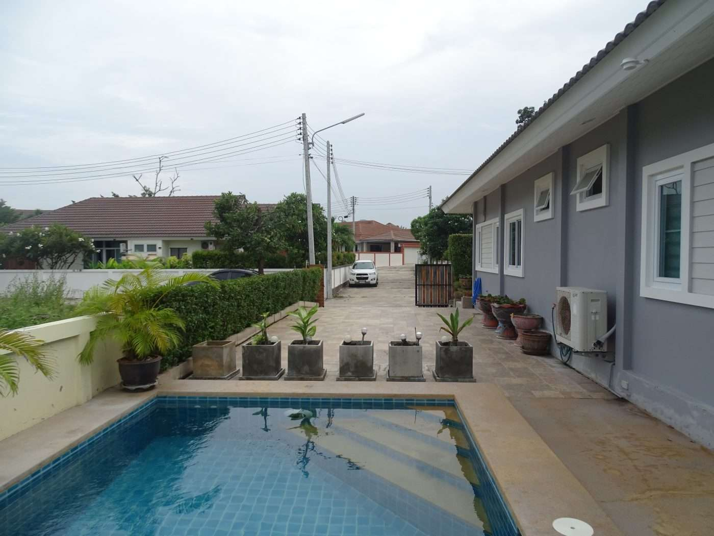 3 Bedroom Bungalow with Pool in Hua Hin Bofai