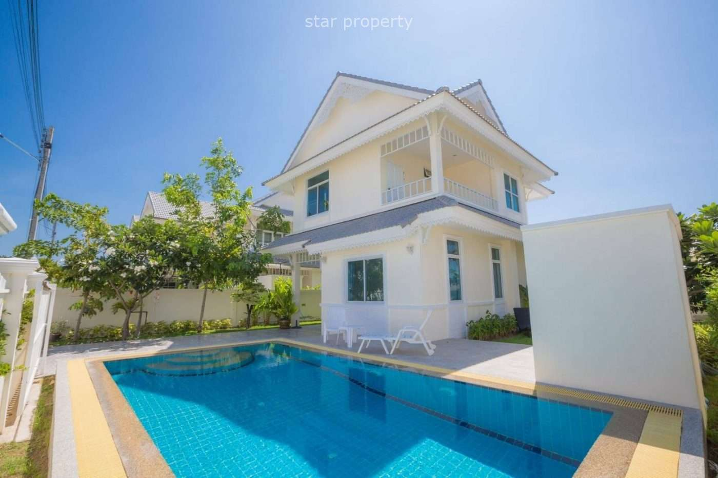 Stunning 2 Stories 3 beds pool villa at Cha Am for sale at Hua HinNice Breez Cha Am