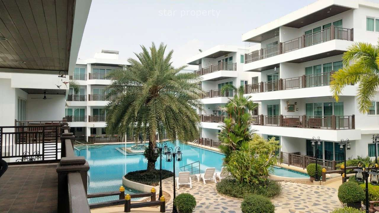 Stunning 2 bedrooms condo for sale at Beach Palace Cha Am