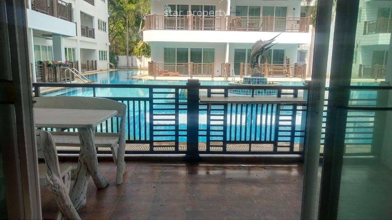 Beautiful 1 studio room condo on ground floor for sale at The Beach Palace
