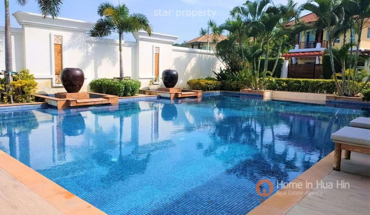 Beautiful 2 beds pool villa at Sida Tropical Villa for sale at Sida Tropical Villa