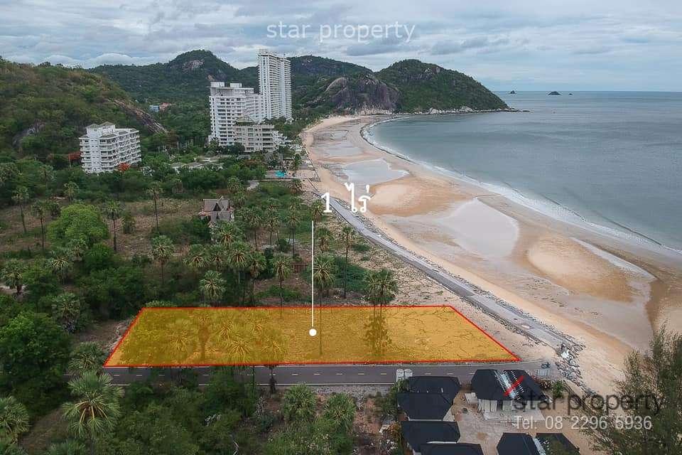 Land on beach at Hua Hin