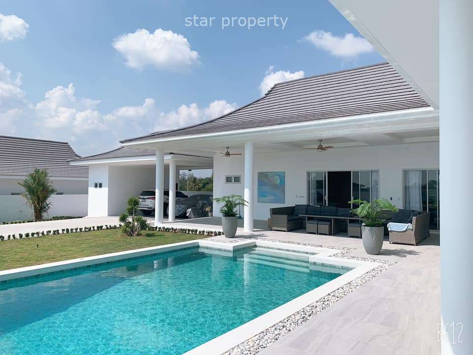5 beds with large land area in soi Hua Hin 112