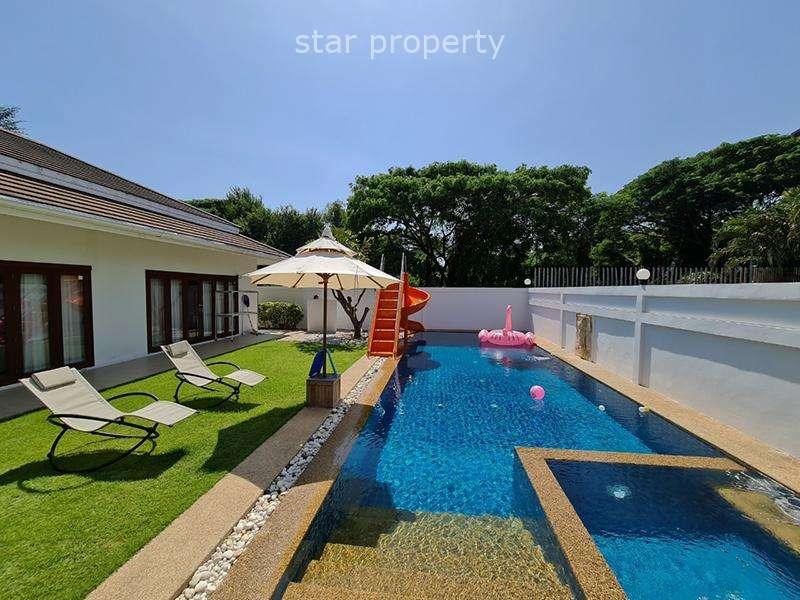4 bedrooms party pool villa at soi Hua Hin 88