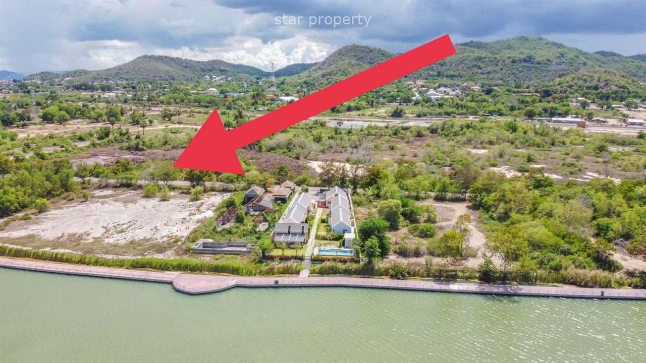 Beautiful land  and good size at Khao Tao Lake for sale at Khao Tao Lake