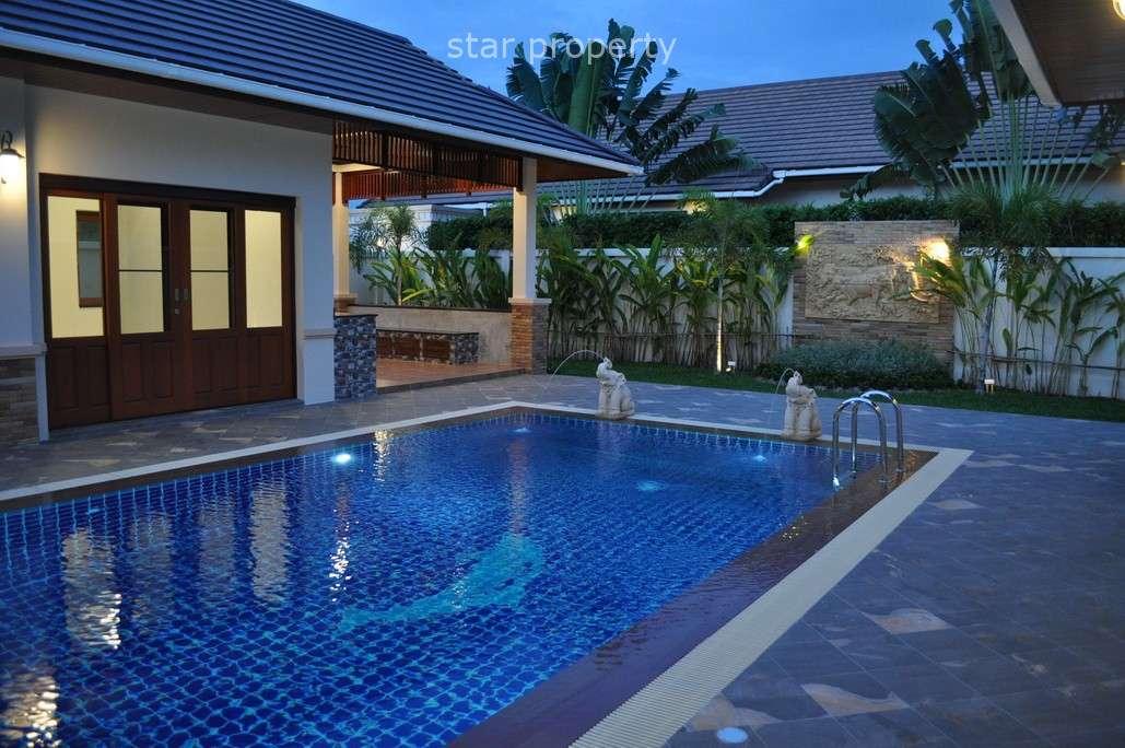 4 bed villa for rent at Soi Hua Hin 88