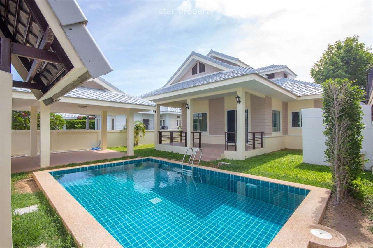 3 beds pool villa at Plumeria Pool Villa Hua Hin