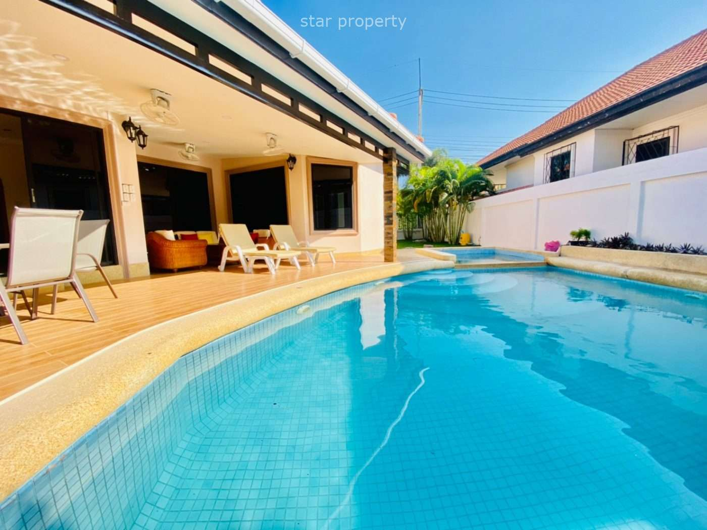 Beautiful 3 beds pool villa for sale at Orchid Villa soi 114