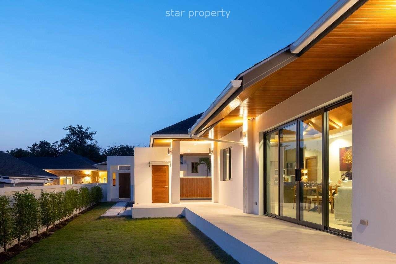 Modern Luxury Bali Style pool Villa at Hua Hin soi 88 for sale at Hamlet 8