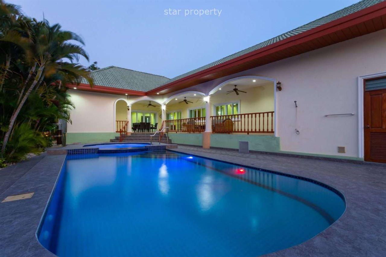 4 Beds 4 Baths Beautiful Pool Villa for sale at Stuart Prk soi Hua Hin 116