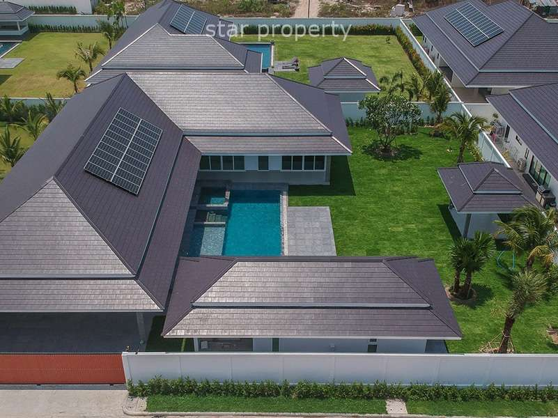New Luxury Pool Villa in Hua Hin Cha Am for sale at The Clouds Hua Hin plot 19