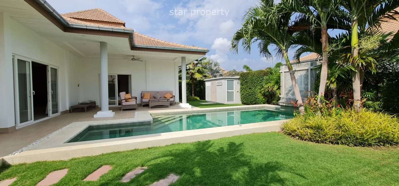 Beautiful pool villa 3 bedrooms for sale at Mali Residence
