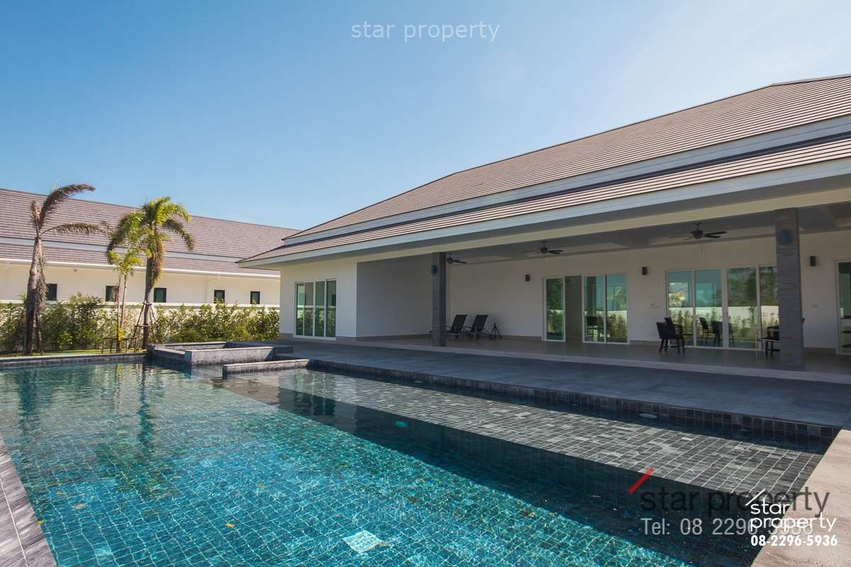 4 Bedrooms Pool Villa With Solar System at The Clouds Hua Hin