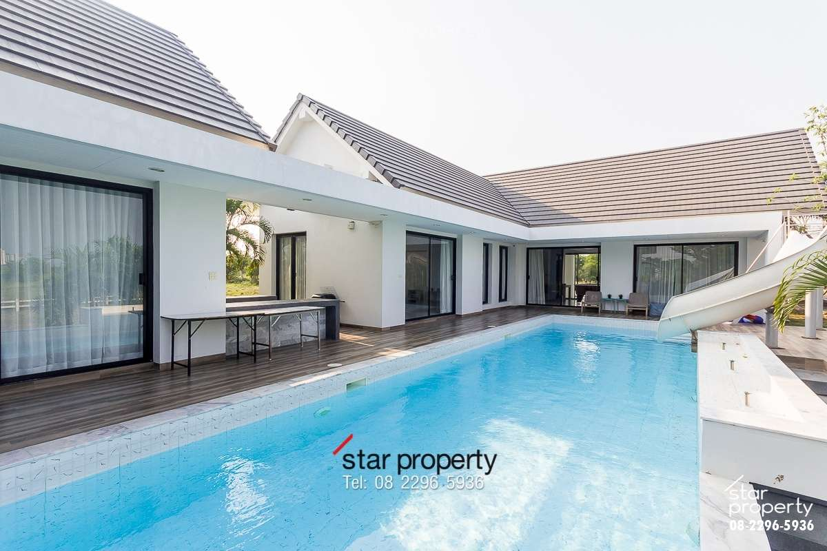 Elegant Modern Villa for Sale at Palm Residence Hua Hin