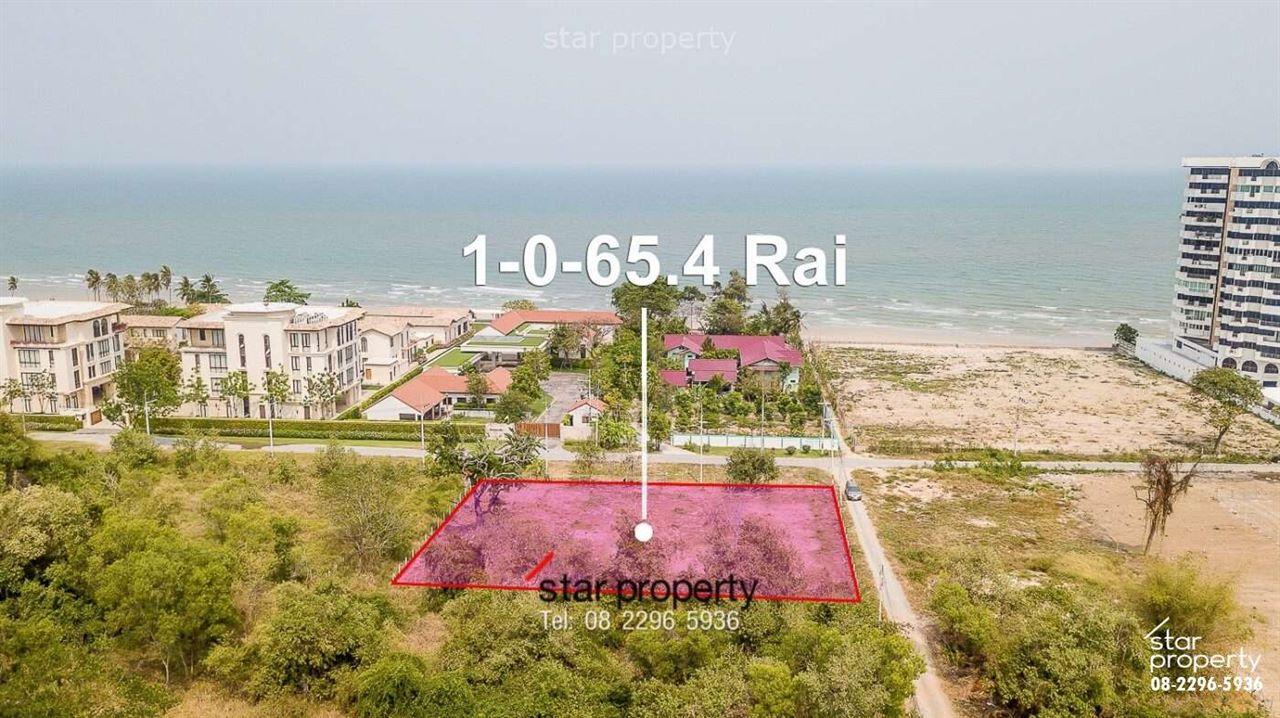 land near Hua Hin beach