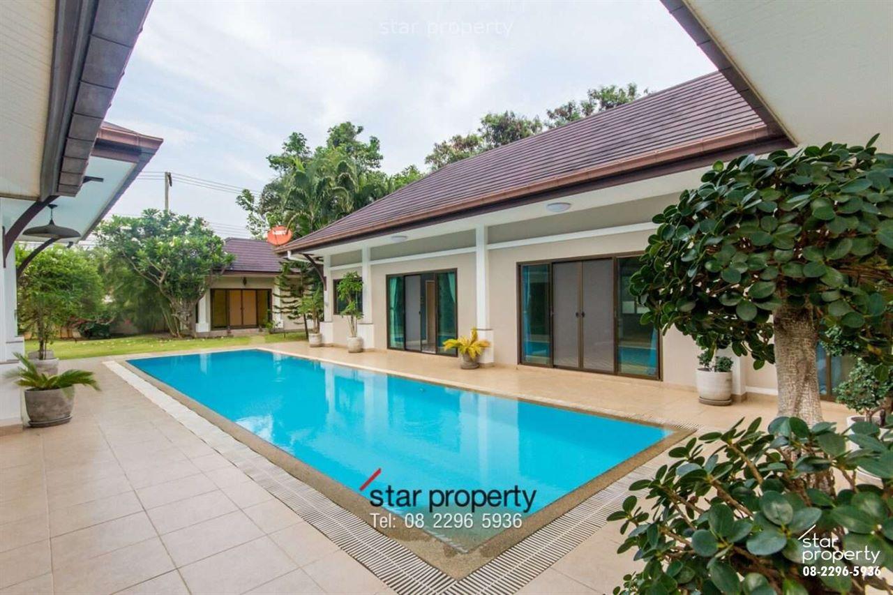 Pool Villa 4 bedrooms at Hua Hin soi 156