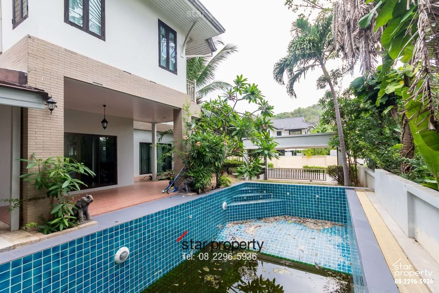 Beautiful House in Town for Rent Hua Hin Villa